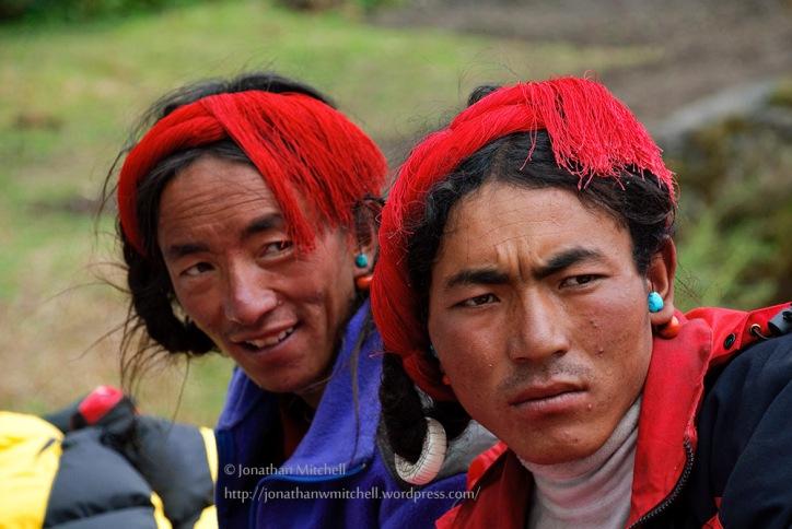 Tibetan Dropka Nomads Portrait