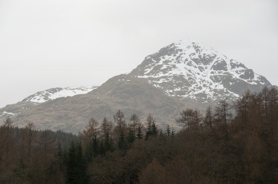 Beinn Ime Trossachs National Park Scotland UK